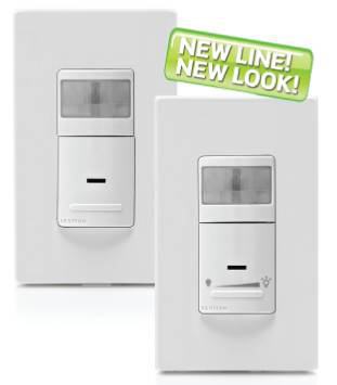Leviton introduced a full line of residential Occupancy and Vacancy Sensors that combine state-of-the-art technology with a sleek new design to provide optimal management of lighting and motor loads.