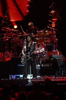 D'Angelo performing during the 2012 ESSENCE Music Festival. (credit: Gus Bennett)