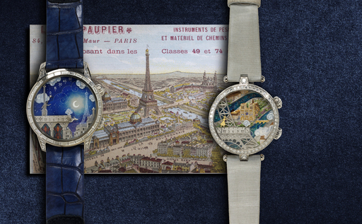 """HIS & HERS"" 2012 VAN CLEEF & ARPELS ""POETIC WISH"" WATCHES & TRIP"