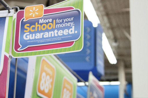 Walmart will offer more than 100 back-to-school items for teachers and students at 88 cents including pencil pouches, lunch totes, notebooks, gel pens, dry erase boards and more.