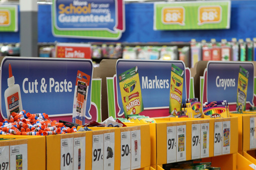 Walmart offers everyday low prices on the broadest assortment of the right merchandise families need for back-to-school.