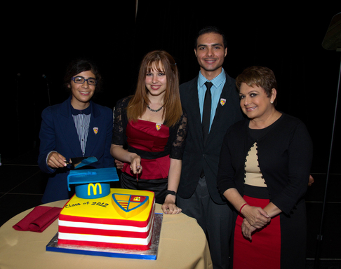 McDonald's and Ronald McDonald House Charities (RMHC) honored the first college graduating class of RMHC/HACER National Scholarship recipients.
