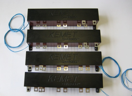 KEMET DC Link film capacitors used in the 2012 TUfast electric race car