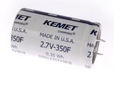 KEMET S501 Series Supercapacitor, Snap-In, 2.7 V, 65C