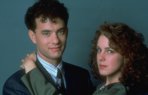 "Elizabeth Perkins with Tom Hanks in ""Big"""