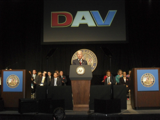 Vice President Joe Biden addressed attendees.