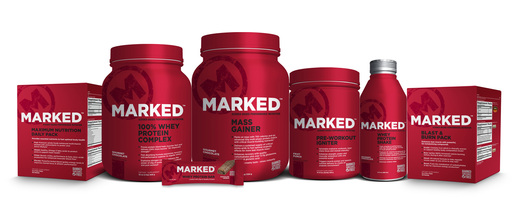 MARKED™ Performance Nutrition Line Powered by Mark Wahlberg
