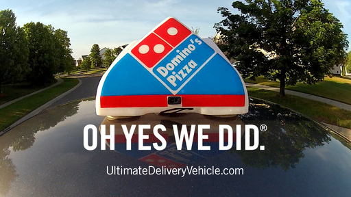 Domino's fans and consumers who visit ultimatedeliveryvehicle.com beginning today, Aug. 13, can submit their ideas or designs as Domino's sets out  to create the Ultimate Delivery Vehicle.