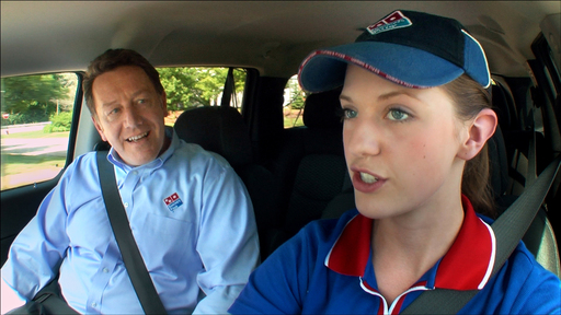 In a new TV campaign beginning today, Patrick Doyle, Domino's Pizza president and CEO, seeks feedback and ideas from Domino's delivery experts in helping design the  Ultimate Delivery Vehicle.