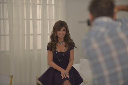 Behind the scenes with Paula Abdul on her Avon Forever Selected by Paula Abdul photoshoot