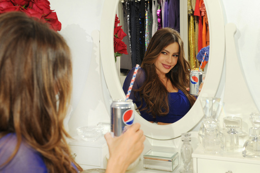 Sofia Vergara shows more flair = more fun with Diet Pepsi in NYC
