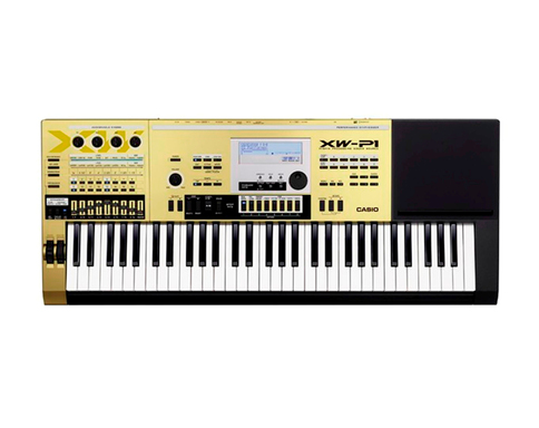 Casio's limited edition gold XW-P1 Performance Synthesizer