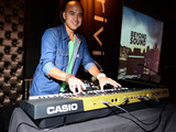 Enferno-mixes-tracks-casio-limited-edition-gold-xw-p1gd-performance-synthesizer-sm