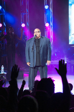 Gospel music artist and 2012 McDonald's® Inspiration Celebration® Gospel Tour headliner Fred Hammond hit the stage for a free night of inspiring, uplifting music.