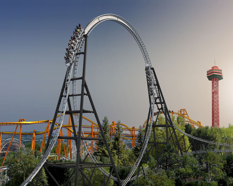 "Full Throttle, the world's tallest, fastest looping coaster featuring a never-been-done-before launch up and over a ""Top Hat"" will debut at Six Flags Magic Mountain in Valenciia, CA in 2013."