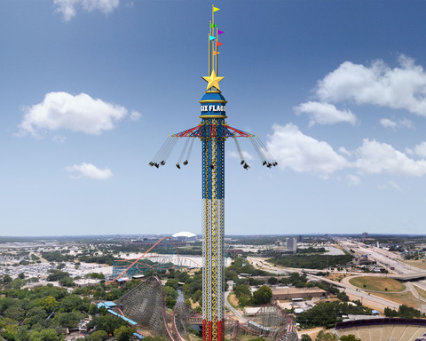 The Texas SkyScreamer, debuting at Six Flags over Texas in 2013, will be the tallest swing ride in the world and will transform the park's skyline as guests circle high above North Texas.