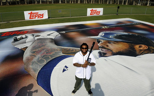 Topps introduces new Series 1 Baseball cards: World's Largest Prince Fielder Card
