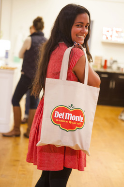 Del Monte pantry essentials were given as parting gifts to guests of the Brit + Co Pantry Party