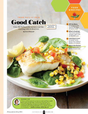 WebMD the Magazine Food & Recipes section is a culinary partner for smarter food choices,  food trends, recipes, and cooking goals.