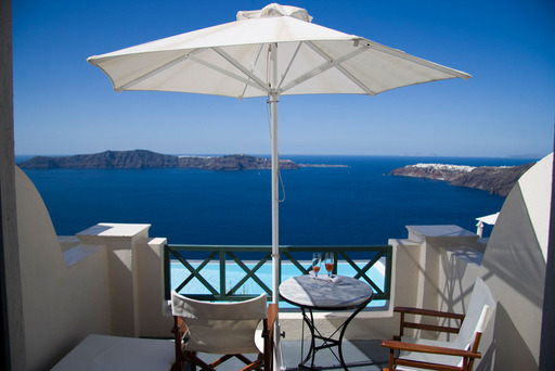 #1 Most Romantic Hotel in the World – Anastasis Apartments, Imerovigli, Greece (A TripAdvisor traveler photo)