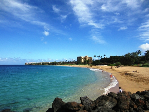 Ka'anapali Beach in Lahaina, Hawaii is the top beach in the U.S., according to the 2013 TripAdvisor Travelers' Choice Beaches Awards.