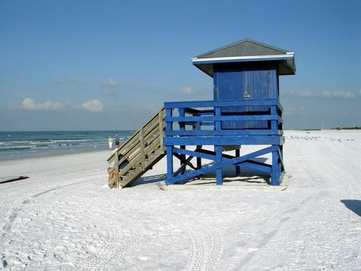 The 2013 TripAdvisor Travelers' Choice Beaches Awards named Siesta Key Public Beach in Sarasota, Florida among the top 10 beaches in the U.S.