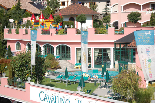 Cavallino Bianco Family Spa Grand Hotel in Oritsei, Italy is the top world hotel for families, according to the 2013 TripAdvisor Travelers' Choice Awards for Hotels for Families.