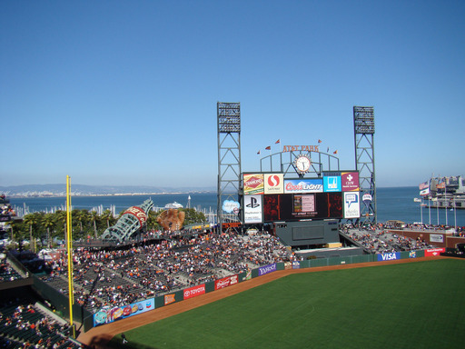 According to TripAdvisor, AT&T Park in San Francisco, California is the #2 ballpark in the U.S. (A TripAdvisor traveler photo)