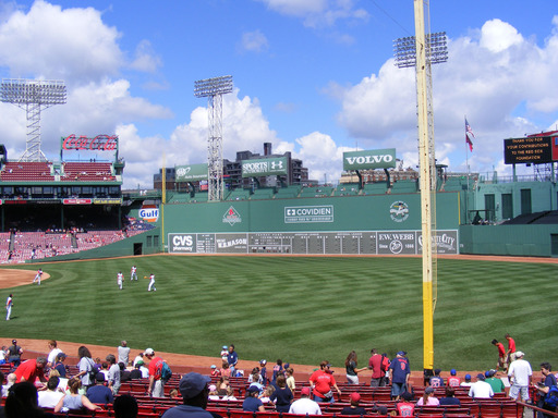 Fenway Park in Boston, Massachusetts is among the top ballparks in the U.S., according to TripAdvisor. (A TripAdvisor traveler photo)