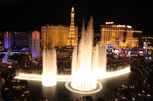 The top landmark in the U.S. is Bellagio Fountains in Las Vegas, according to the 2013 TripAdvisor Travelers' Choice Attractions. (A TripAdvisor traveler photo)