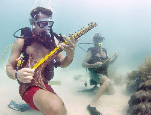 TripAdvisor calls out the Lower Keys Underwater Music Festival near Big Pine Key, Florida as a wacky summer festival. (Photo: Florida Keys News Bureau)