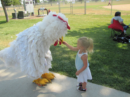 The Wayne Chicken Show in Wayne, Nebraska is among the TripAdvisor list of wacky summer events. (Photo: Wayne Area Chamber of Commerce)