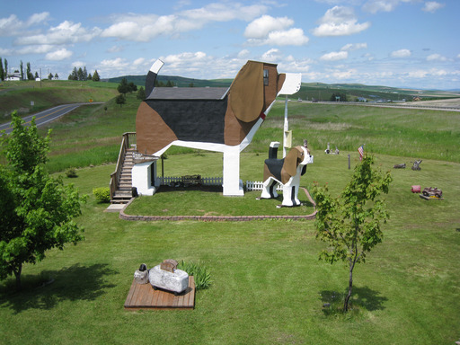 The Dog Bark Park Inn in Cottonwood, Idaho is on the TripAdvisor list of 10 quirky U.S. accommodations. (A TripAdvisor traveler photo)