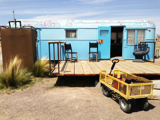 El Cosmico in Marfa, Texas is among the 10 quirky U.S. accommodations, according to TripAdvisor. (A TripAdvisor traveler photo)