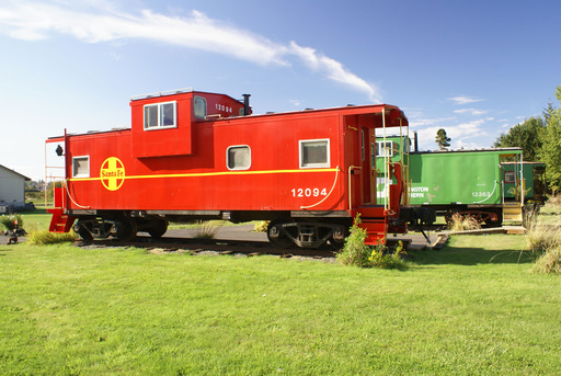 TripAdvisor named the Red Caboose Getaway in Sequim, Washington one of the 10 quirky U.S. accommodations. (A TripAdvisor traveler photo)