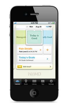 WebMD Pain Coach Journal