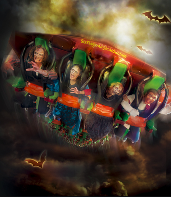 Fright Fest at Six Flags Magic Mountain - Fridays through Sundays in October