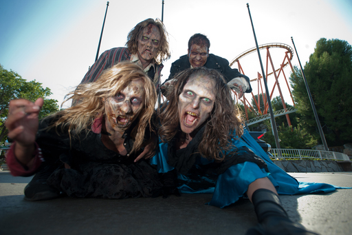 Fright Fest at Six Flags MAgic Mountan - Fridays through Sundays in October