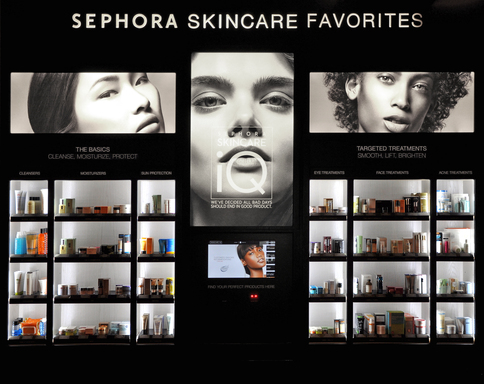 Sephora Skincare iQ, the most comprehensive in-store technology to make addressing your skincare concerns faster, smarter and simpler.