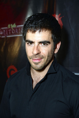 "Director Eli Roth, best known for creating ""Cabin Fever"" and the ""Hostel"" franchises, hits the black carpet to unveil his new year-round haunt experience Eli Roth's GORETORIUM in Las Vegas."