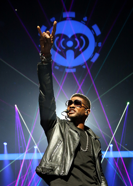 Usher and Swedish House perform at the 2012 iHeartRadio Festival