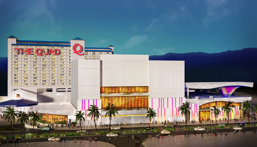 Imperial Palace Las Vegas will become The Quad in late 2012 with renovations to be complete late 2013