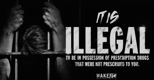 Giving someone a controlled prescription drug makes you a drug dealer.  Being in poseesion of one is illegal.  We're not talking suspension from school -- BOTH are a felony.