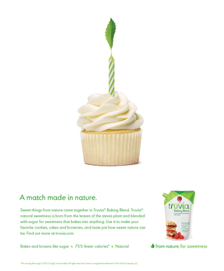 Truvia® Baking Blend. From Nature. For Sweetness.
