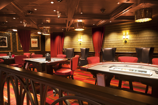 A new high-limit gaming area with a prime view of the casino is an intimate setting wrapped in rich colors and styling from the roaring 20s, including fringe-lined walls inspired by flapper dresses.
