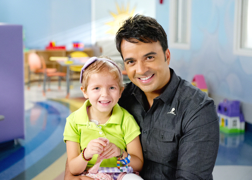 Luis Fonsi and St. Jude Children's Research Hospital Patient Ivanna