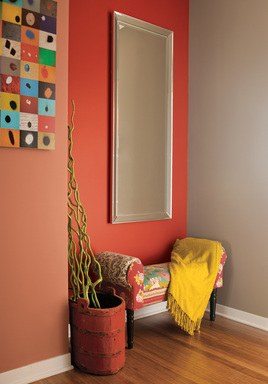The Artful Expression palette matches vibrant mid-tones and bright colors to work in powerful combinations through hybrids such as mustard yellow, olive green and salmon shades.