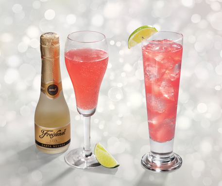Mimi's Sparkling Pink Drinks