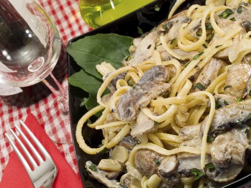 Craving mushrooms? Try the National Pasta Association's  Exotic Mushroom Linguine
