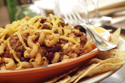Pasta Fits your favorite fall meal with  Pasta and Black Bean Turkey Chili
